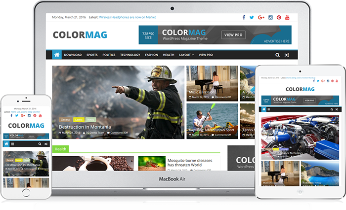 ColorMag WordPress Theme Free Download