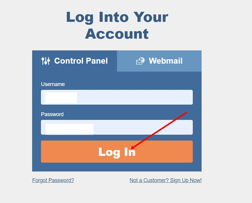 Your cPanel URL will be like this yourdomain.com/cpanel or something else depending on your Hosting Provider
