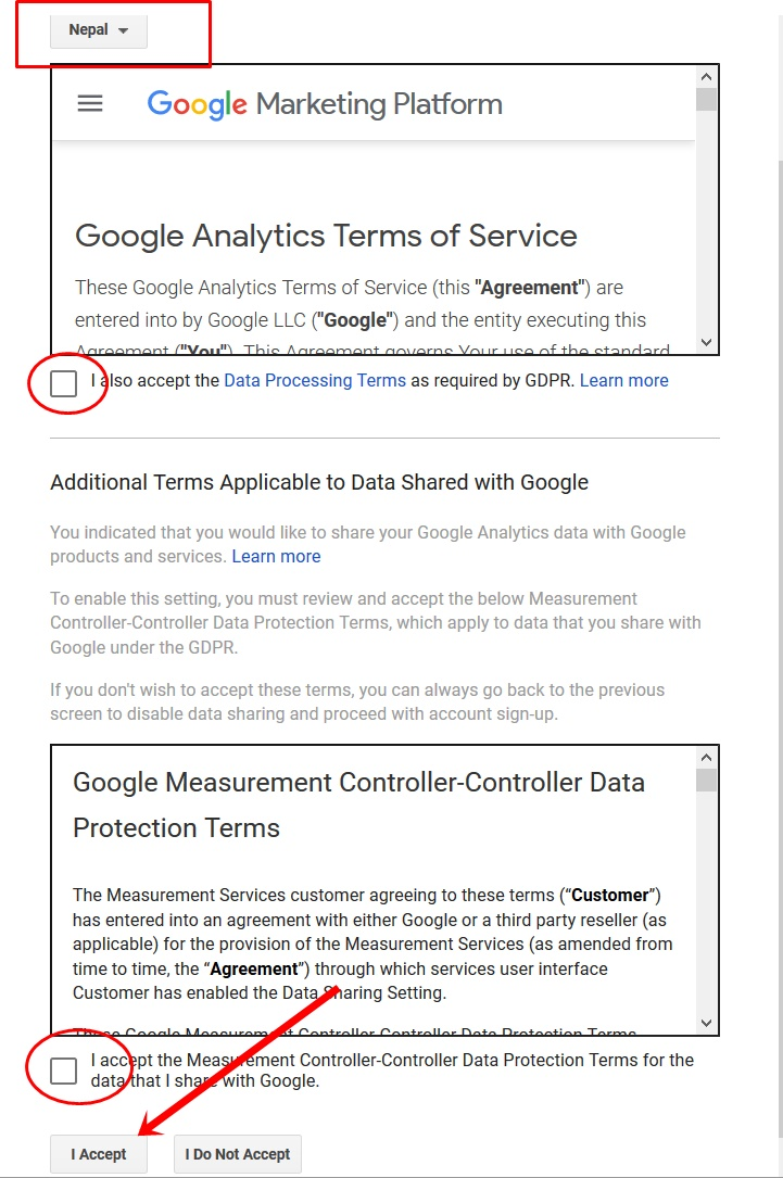 Finally Setup your Google Analytics Account for Website