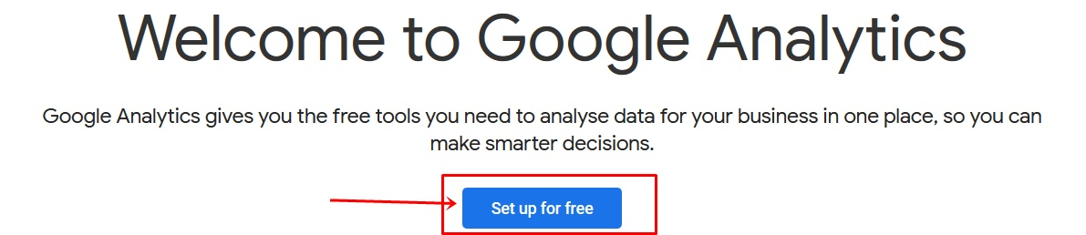 Google Analytics free for track your website visitor